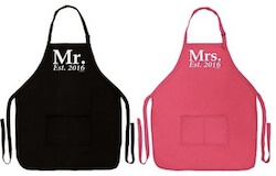 Mr and Mrs Aprons
