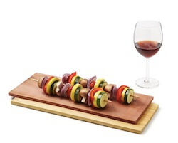 Wine Infused Cedar Grilling Plank