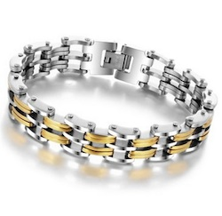 Gold Plated Men's Bracelet