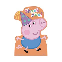 Peppa Pig Thank-You Notes