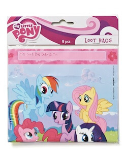 My Little Pony themed goodie bags