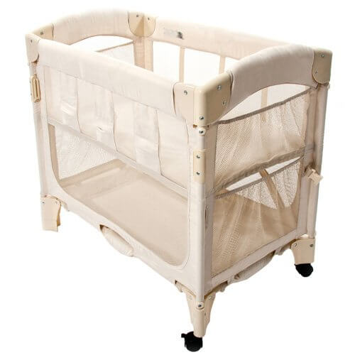 Arm's Reach Concepts Co-Sleeper Bassinet Mini Arc Natural