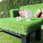 DIY AstroTurf couch