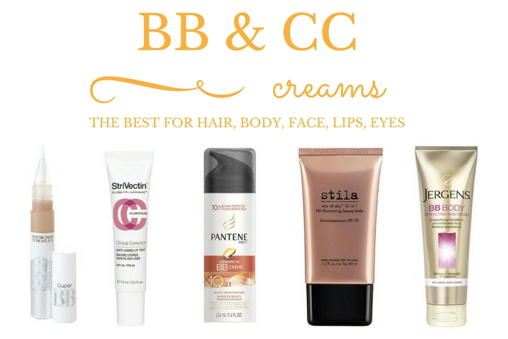 Best drugstore BB and CC cream