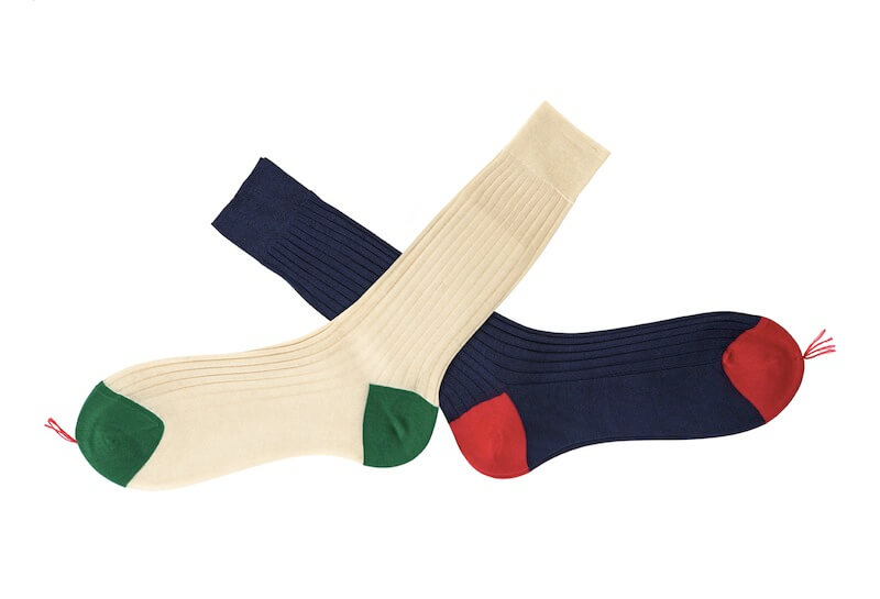Calzificio Bresciani Wide Ribbed Cotton Mid-Calf Socks