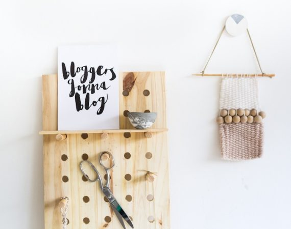 DIY mothers day gifts handmade pegboard