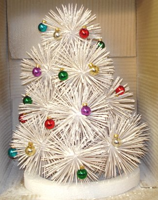 Toothpick Christmas tree