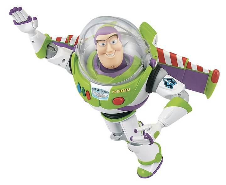 Toy Story Blast Off Buzz Lightyear