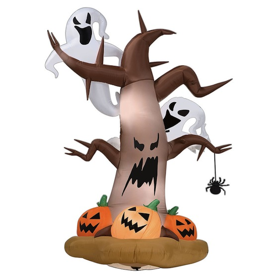 Airblown Halloween Inflatable Dead Tree