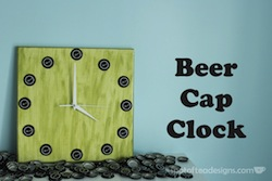 DIY Beer Cap Clock