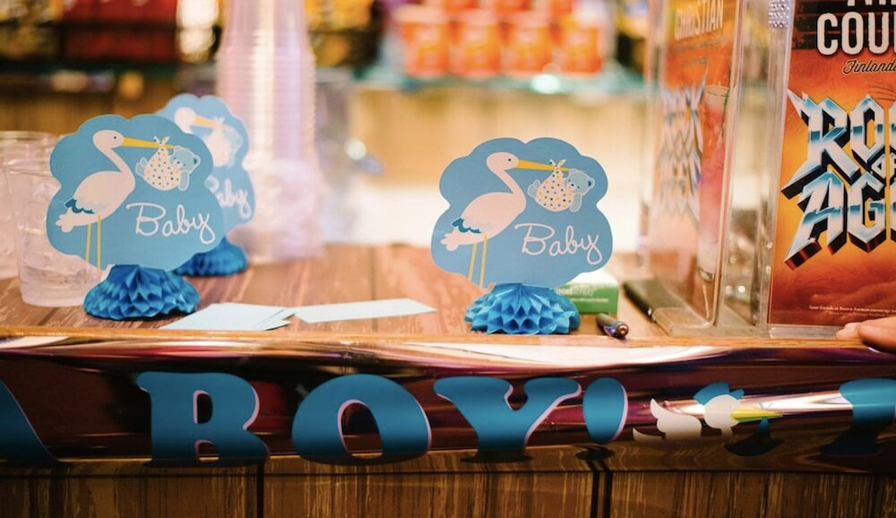 Baby shower themes for boys