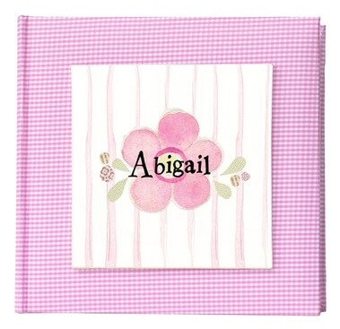 Flower Personalized Photo Album