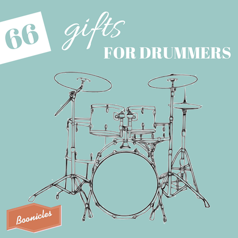 66 unique gifts for drummers