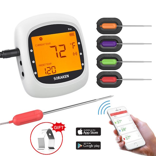 Wireless Remote Grilling Thermometer