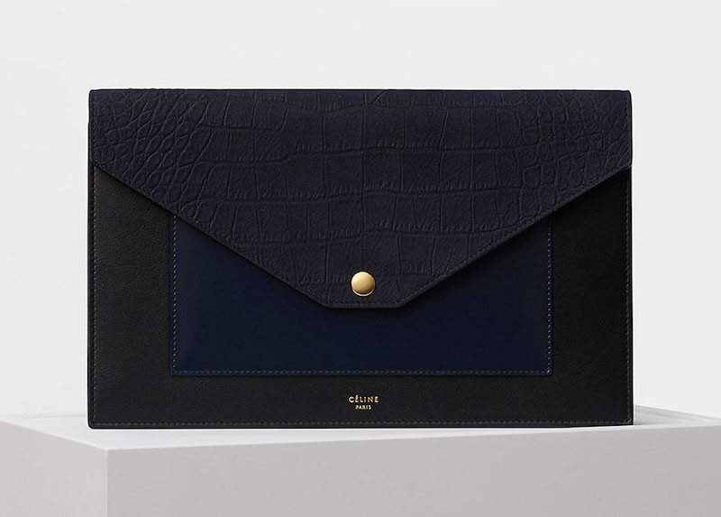 Celine Pocket Evening Clutch